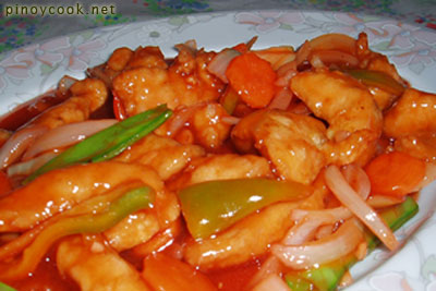 casaveneracion.com Sweet and sour chicken fillets