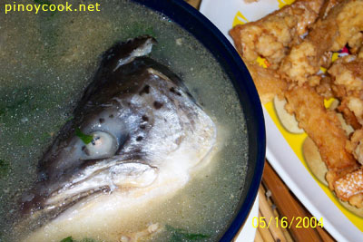 casaveneracion.com Fish head soup