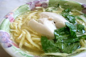 chicken mami (Chinese style noodle soup)