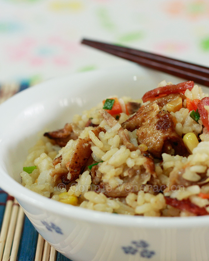 chinese-sausage-duck-fried-rice