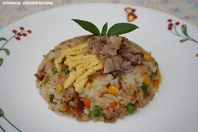 casaveneracion.com cooking with leftovers: turkey fried rice