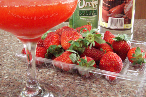 casaveneracion.com Frozen strawberry daiquiri