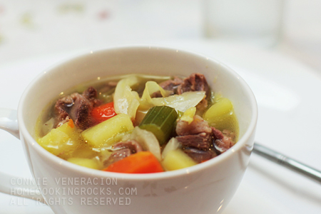 casaveneracion.com Welsh cawl (boiled lamb and vegetables soup)
