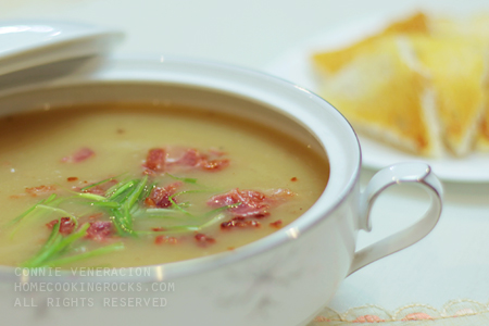casaveneracion.com Bacon and potato soup