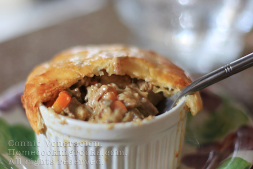 casaveneracion.com Beef brisket and sour cream pot pie