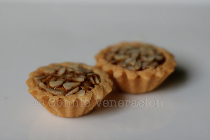 Filipino delicacies: pili nut tarts