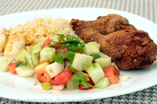 Fried chicken, Asian style
