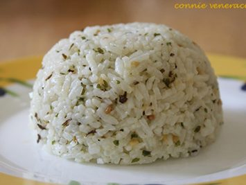 Herb-loaded Rice