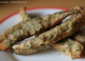 Easy hors d'œuvre: herbed fish sticks