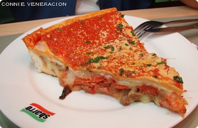 The return to Sbarro
