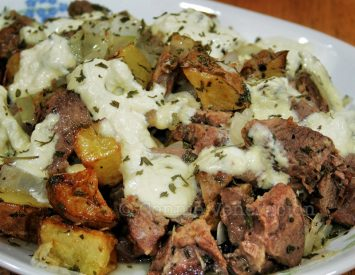 Beef and Potatoes With Sour Cream
