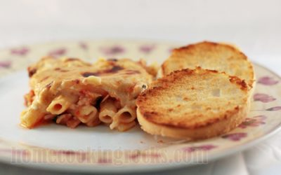 baked-macaroni-cheesy-topping