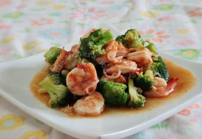 shrimp-broccoli