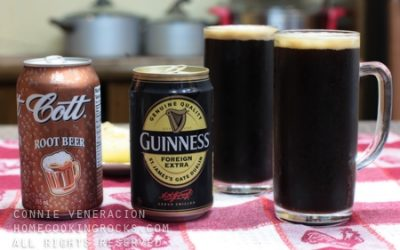 Black and brown: root beer plus Guinness