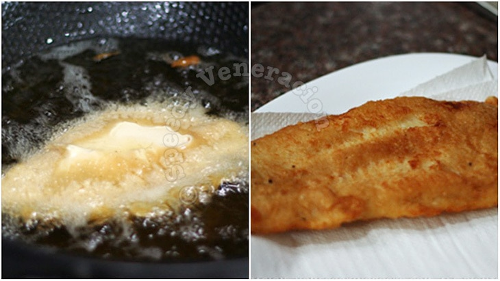 Beer battered fish and chips casa veneracion for Deep fry fish batter