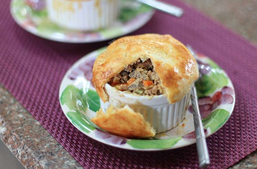 Beef Brisket and Sour Cream Pot Pie