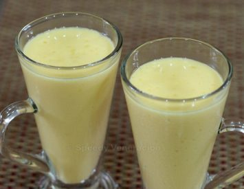 How to make: Mango-ginger lassi