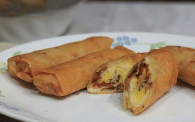 bacon-cheese-banana-spring-rolls