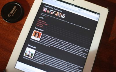 Optimizing a WordPress (food) blog for mobile devices and my new theme design