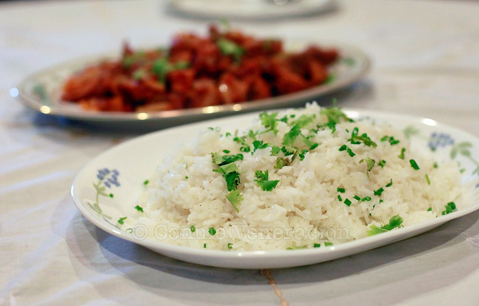 Arroz blanco (white rice)