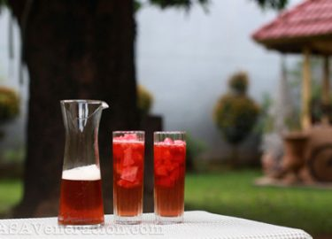 Watermelon iced tea