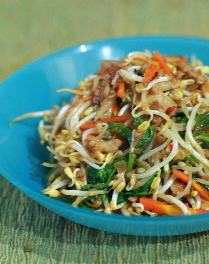 Spicy Mung Bean Sprouts