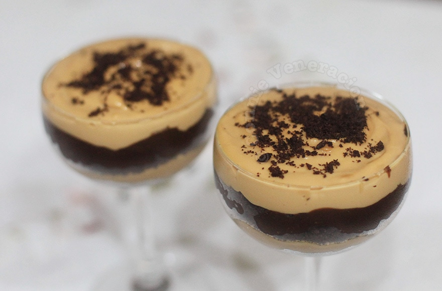 CASAveneracion.com | Dulce de leche and chocolate cookie trifle