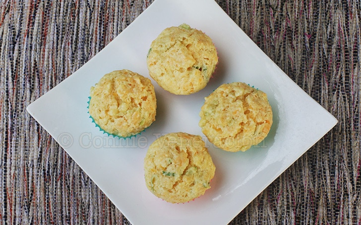 casaveneracion.com Cheddar and scallion muffins