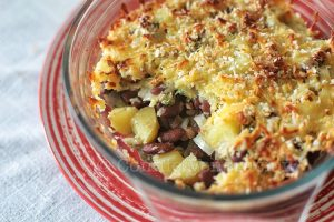 cheese-topped-baked-beans-potatoes-eggplants1