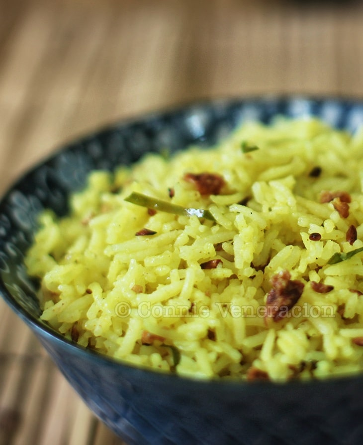 South Asian Lemon Rice
