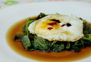 wilted-spinach-egg