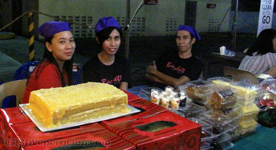 Yema cake at Banchetto Forum