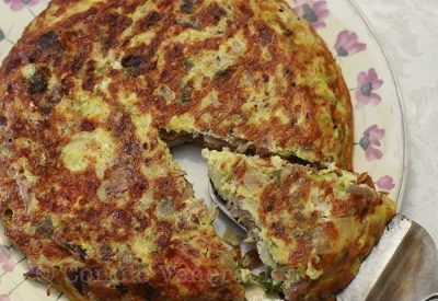 pork-cabbage-fritatta