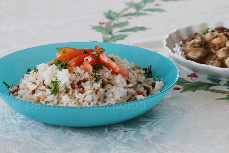 Tinapa (smoked fish) fried rice | casaveneracion.com