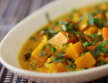How to cook a creamy and tasty vegetable curry
