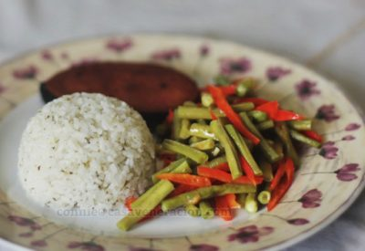 herbed-rice-buttered-vegetables