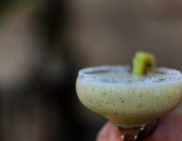 What are you drinking on New Year's Eve? We're testing a couple of cocktail recipes.
