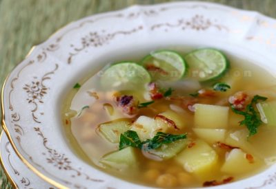 chickpea-potato-chayote-soup