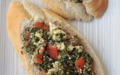 pesto-tomatoes-feta-cheese