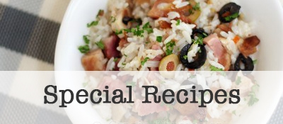 View Special Recipe Categories
