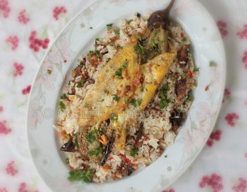The easier and less messy way of cooking tortang talong (eggplant omelet)