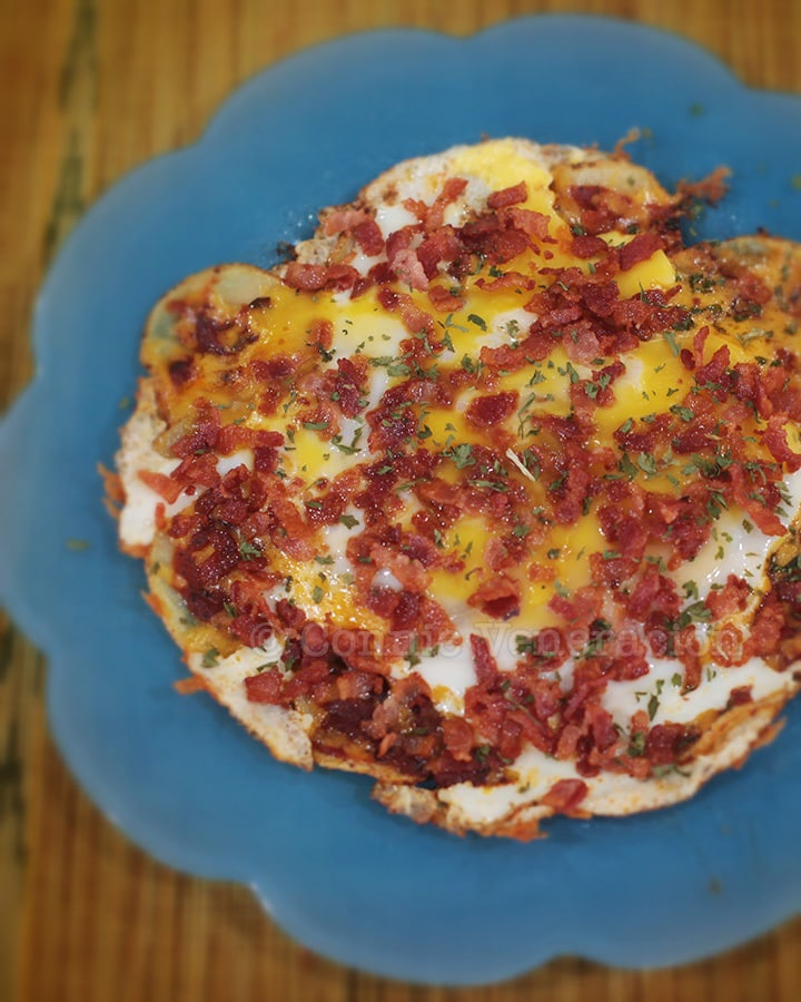 Potato Pancake With Cheese And Bacon Recipes — Dishmaps