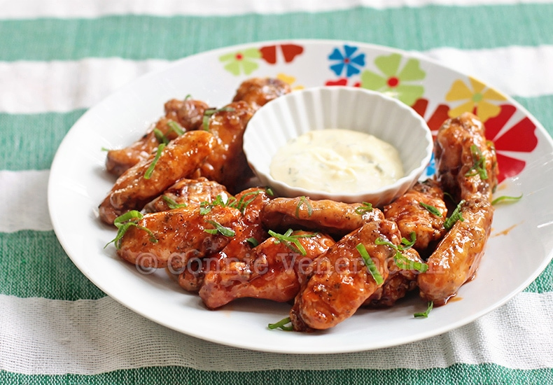 Buffalo Chicken Wings | casaveneracion.com
