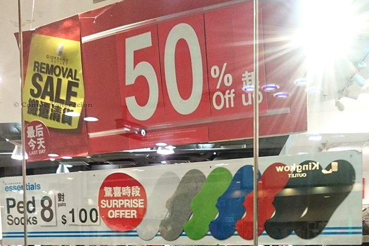 Year-round discount shopping at Citygate Outlets, Hong Kong