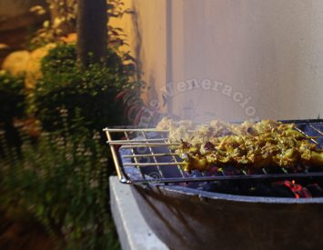 The Grill, the Dining Table and the Primitive Cooking Fire