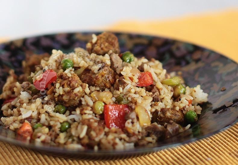 Cajun Dirty Rice | casaveneracion.com