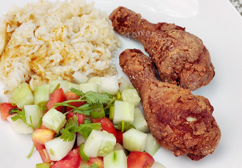 Fried Chicken With Asian Spices | casaveneracion.com