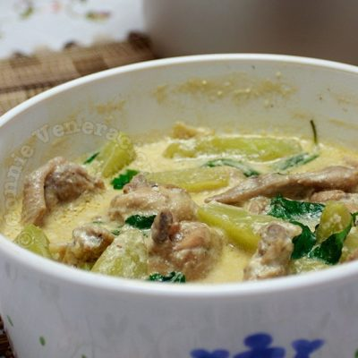 Halang-halang (Chili Coconut Chicken Soup)