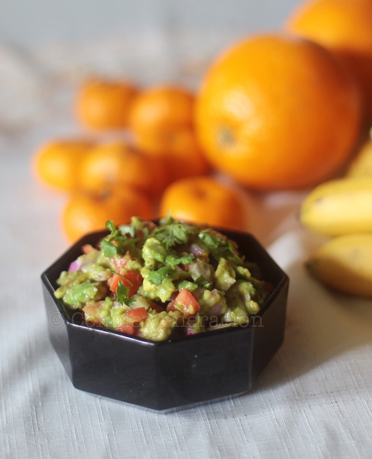 Handmade Holiday Food Gifts: Guacamole