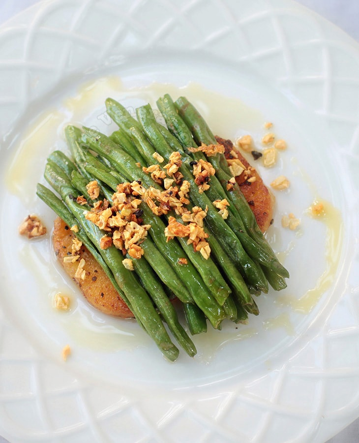 Green Beans With Lemon Garlic Sauce
